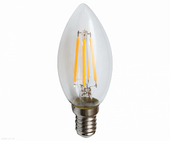 LED Лампа прозрачная E14 6W (2700K) KINK Light 098356,21